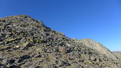 Rock Climbing Photo: Talus heap false summit.