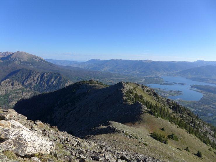 Rock Climbing Photo: Looking back toward Mt. Royal.