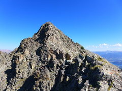 Rock Climbing Photo: Looking back at Peak 3.