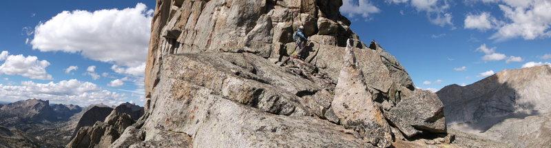 Rock Climbing Photo: rappin
