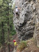 Rock Climbing Photo: Captain Tight Pants is sure to be a popular route....