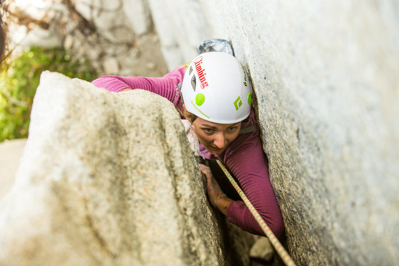 Rock Climbing Photo: Off Width Clinic Photo Andrew Burr
