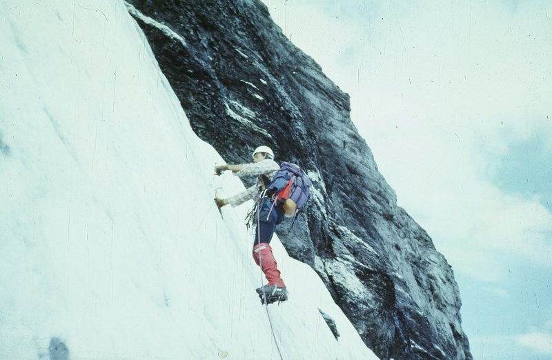 Rock Climbing Photo: North Face of Eiger