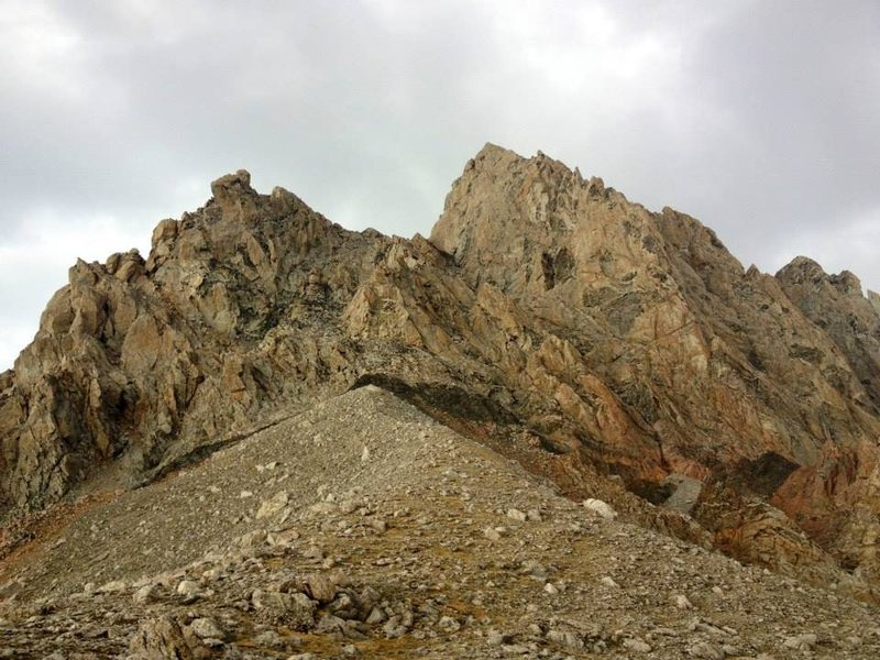 On the lower saddle