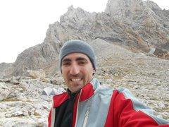 Rock Climbing Photo: On the lower saddle