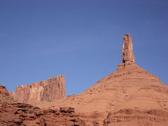 Rock Climbing Photo: Castleton Tower and the Rectory en route to Fine J...