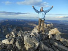Rock Climbing Photo: On the summit of Grand Teton