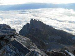 Rock Climbing Photo: From Grand Teton Summit