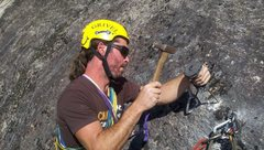 Rock Climbing Photo: Its hammer time