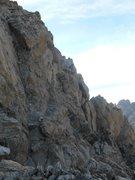 Rock Climbing Photo: Upper Exum Ridge