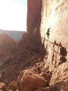Rock Climbing Photo: Splitter day for splitters at the Cat Wall.  India...