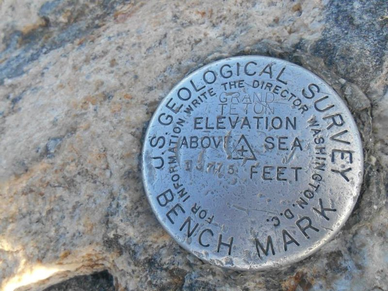 The summit bench mark