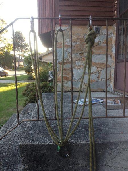 3 pt sliding x rope