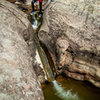 Canyoning Hay's Creek with Nathan. Summer 2013. Redstone, CO.
