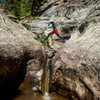 Hay's Creek Canyoning, Redstone, Colorado.