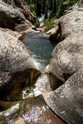 Rock Climbing Photo: The beautiful Hay's Creek, Redstone, Colorado.