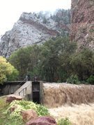 Rock Climbing Photo: Damn dam.