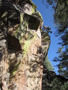Rock Climbing Photo: Matt Bogar  new routing in Amole