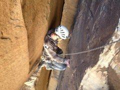 Rock Climbing Photo: Chimney!