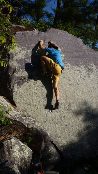 Rock Climbing Photo: Awesome problem!