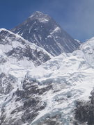 Rock Climbing Photo: Mount Everest from Kala Patha 18,200