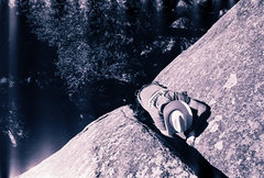 Rock Climbing Photo: Trick on the perfect lower pitch.