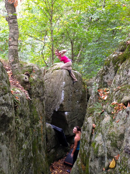 Rock Climbing Photo: Gurl Burl!