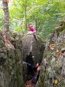 Rock Climbing Photo: Gurl Burl!