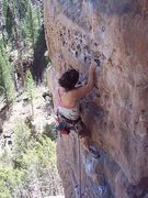 Rock Climbing Photo: Mr Slate. The Pit, Flagstaff, Az.