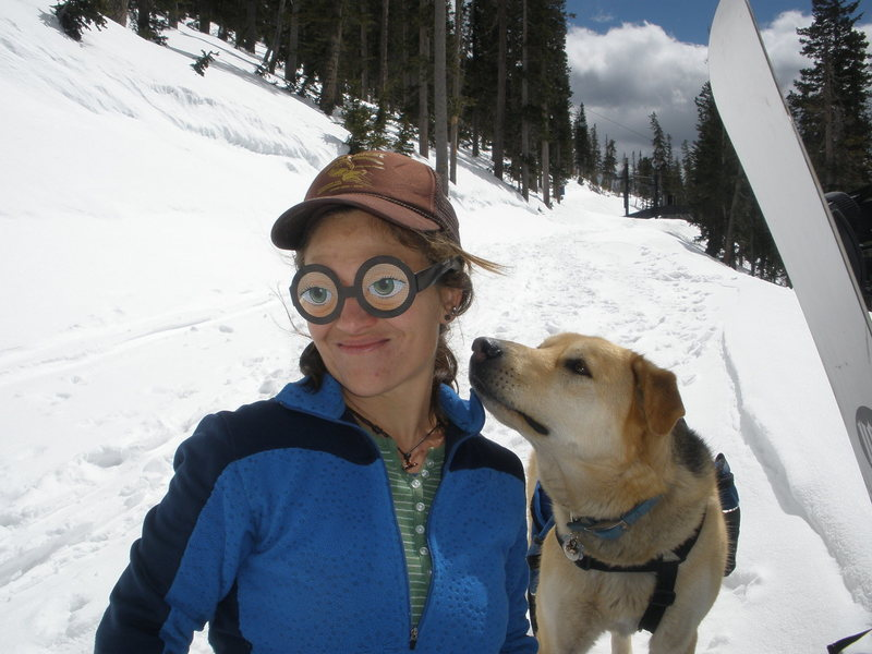 Rock Climbing Photo: hiking snowbowl. 2010?