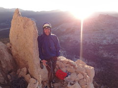 Rock Climbing Photo: Sunrise!