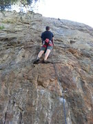 "Rock Climbing Photo: Just getting started on ""Right To Be Wrong&qu..."
