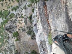 Rock Climbing Photo: Belaying from Squawstruck p8