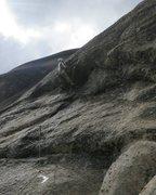 Rock Climbing Photo: crux'n