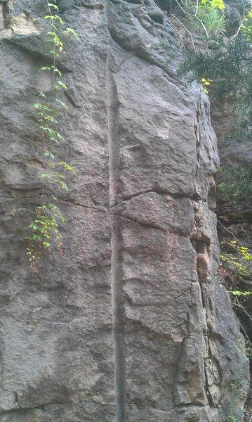 Rock Climbing Photo: Dynamite Rail