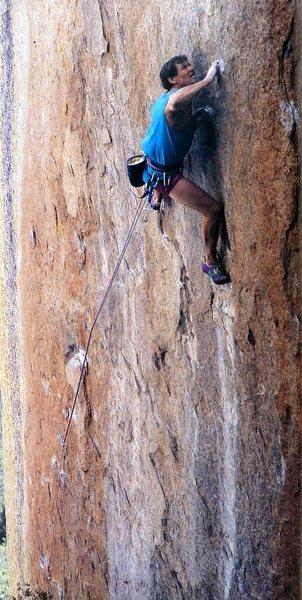 Rock Climbing Photo: Mike Lechlinksi on The Parasite (5.13b), The Needl...