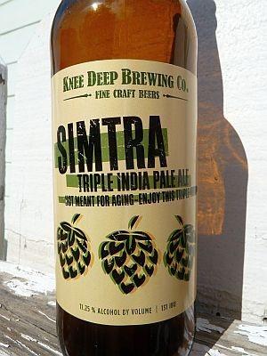 Knee Deep Brewing Simtra Triple IPA