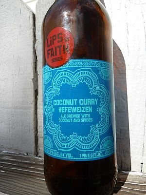 New Belgium Coconut Curry Hefeweizen