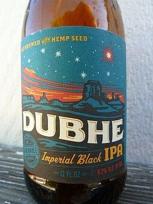 Uinta Brewing Dubhe Imperial Black IPA