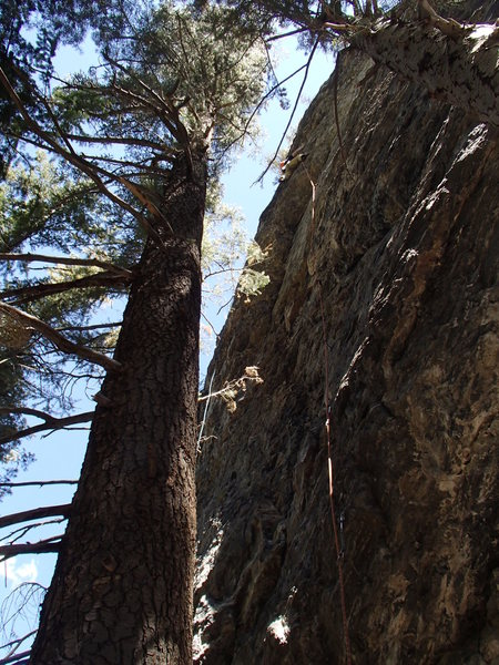 Rock Climbing Photo: Such a cool roof problem with a fun start. Photo b...
