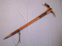 Rock Climbing Photo: 1920s Homemade Ice Axe