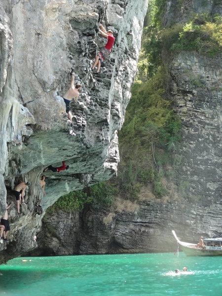 Rock Climbing Photo: DWS in Thailand