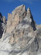 Rock Climbing Photo: Punta della Cinque Dita, possibly better known in ...