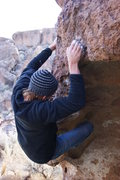 Rock Climbing Photo: Rendezvous with an alien