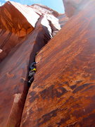 Rock Climbing Photo: Short, sweet and wide!