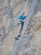 Rock Climbing Photo: Kent on TR