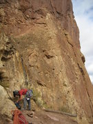 Rock Climbing Photo: Climbing at Smith Rock