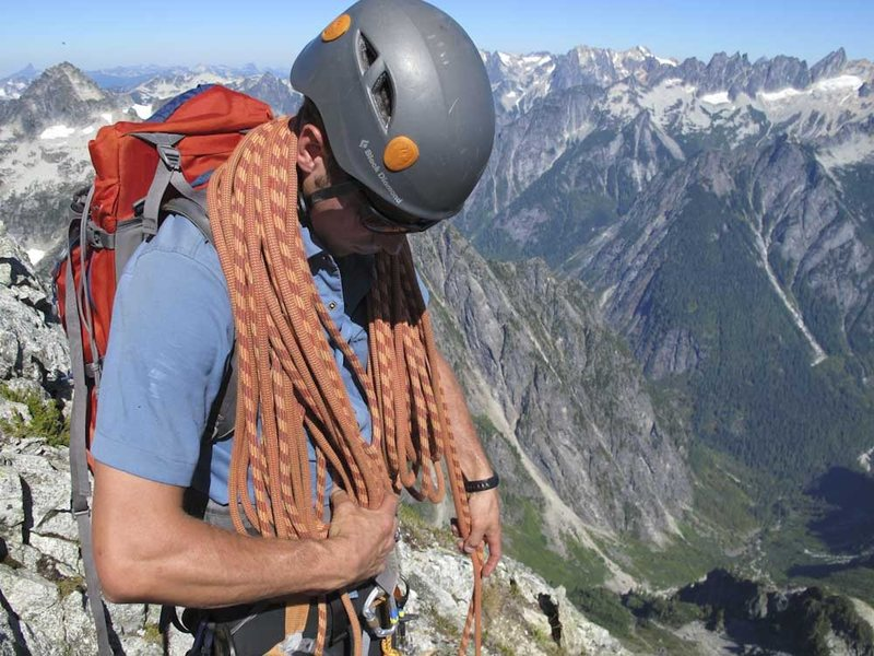 Rock Climbing Photo: Summit of Mt. Triumph. North Cascades National Par...