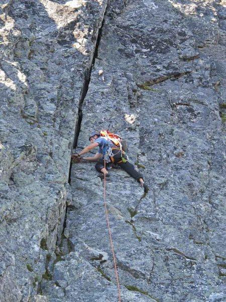 Rock Climbing Photo: Mt. Triumph