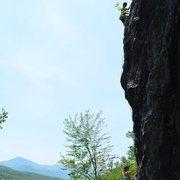 Rock Climbing Photo:  take back vermont